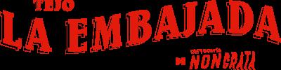 Tejo La Embajada Logo Rojo